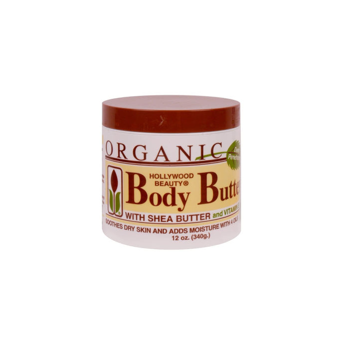 HOLLYWOOD BEAUTY | Body Butter Cream 12oz.