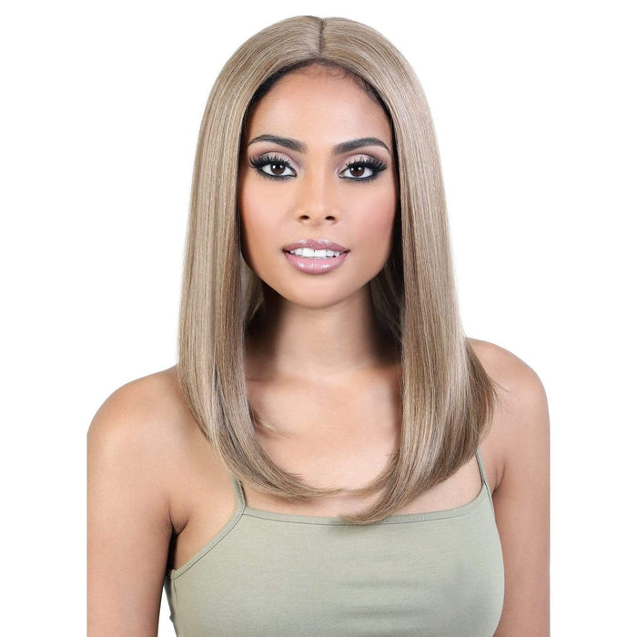 HBLDP.SUE | Human Hair Blend Deep Part Lace Front Wig.