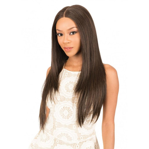 HD360S STRAIGHT | New Born Free Synthetic HD Lace Front Wig - Hair to Beauty | Color Shown :