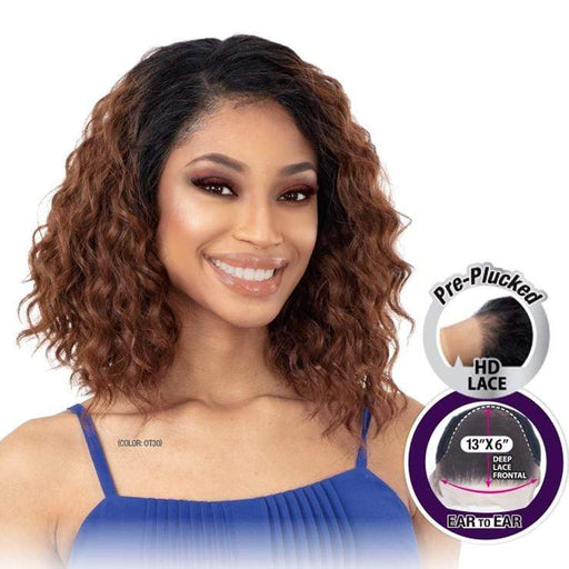 HDL-01 | Freetress Equal HD Illusion Synthetic Lace Frontal Wig - Hair to Beauty | Color Shown : OT30