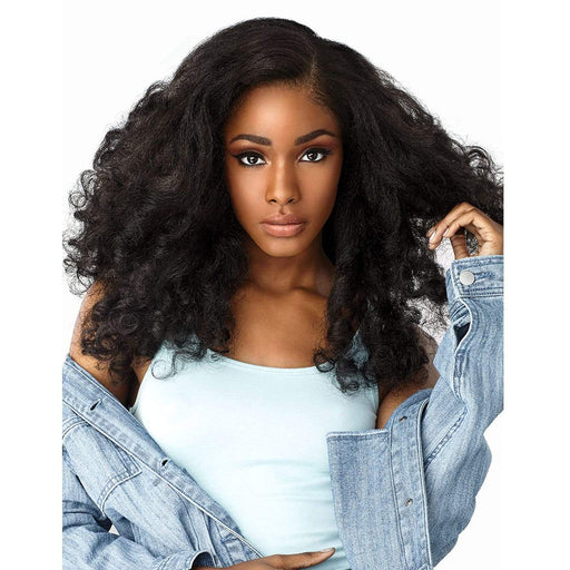 HEART BREAKER | Sensationnel Curls Kinks & Co Empress Lace Front Wig - Hair to Beauty | Color Shown: 1B