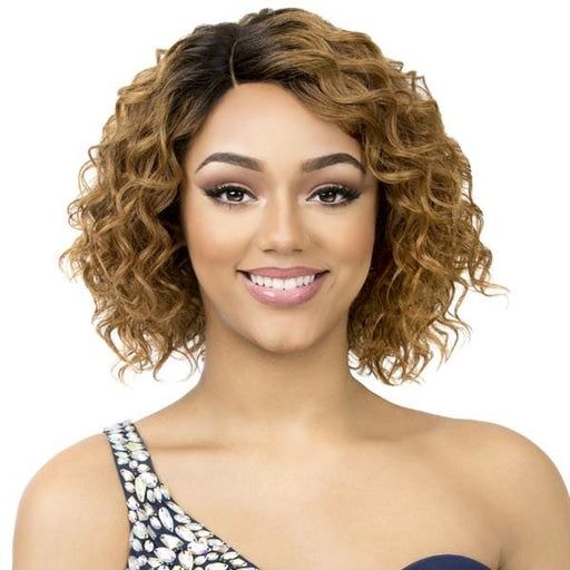 HH DANICA | It's a Wig! Cap Weave Human Hair Wig - Hair to Beauty | Color Shown: TT30