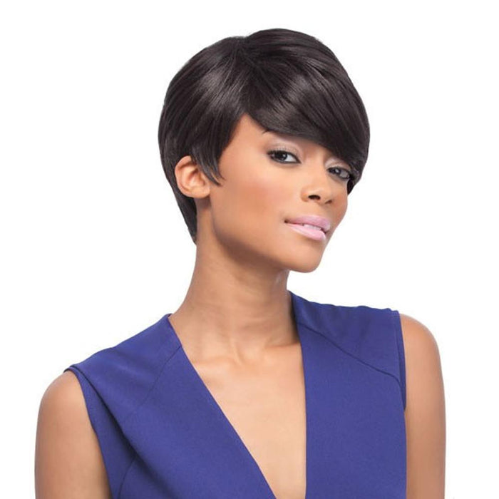HOLLY | Quick Weave Synthetic Half Wig - Hair to Beauty | Color Shown: 2