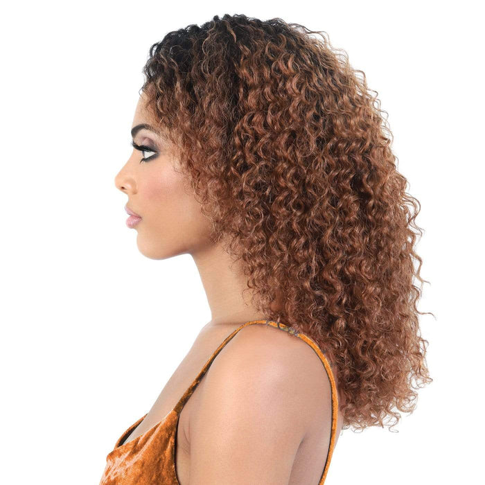 HPL3. KONA | Human Hair Lace Deep Part Wig | Color Shown: 27 - Hair to Beauty