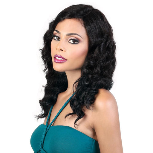 HPLP360.03 | Motown Tress 100% Persian Human Hair 360 Lace Front Wig - Hair to Beauty | Color Shown: NATURAL