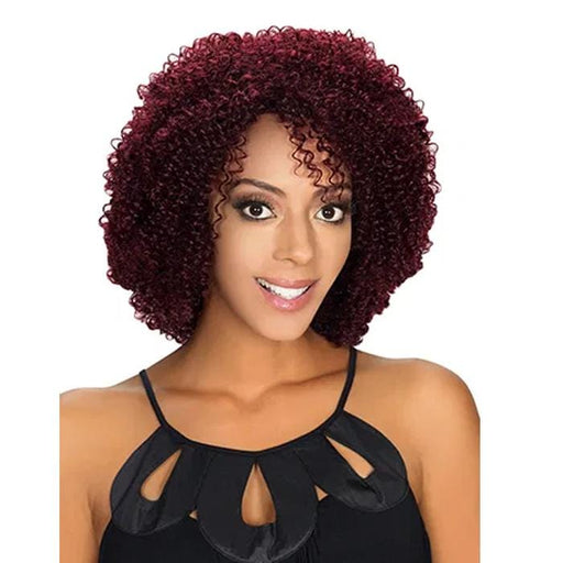 HR-REMY CORY | Remy Human Hair Wig - Hair to Beauty | Color Shown : 99J