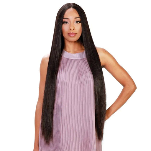 HRH-BRZ LACE AIR | Zury Sis Brazilian Human Lace Front Wig - Hair to Beauty | Color Shown: NATURAL