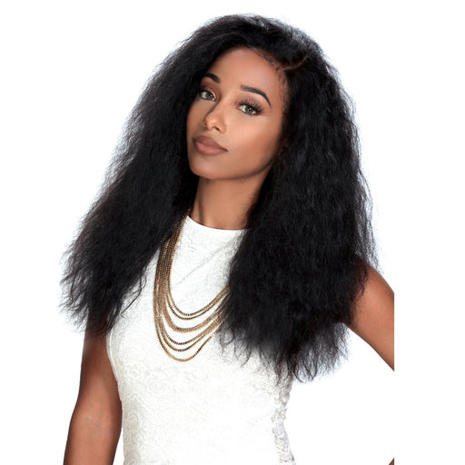 HRH-BRZ LACE LIBRA | Zury Sis Brazilian Human Lace Front Wig - Hair to Beauty | Color Shown : NATURAL