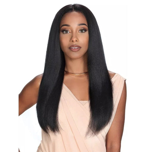 HRH-BRZ LACE LYRA | Zury Sis Brazilian Human Lace Front Wig - Hair to Beauty | Color Shown : NATURAL
