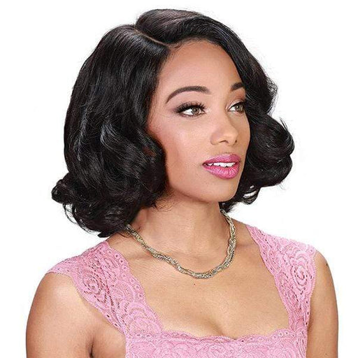 HRH BRZ LACE TALLY | Zury Sis Brazilian Human Lace Front Wig - Hair to Beauty | Color Shown : NATURAL