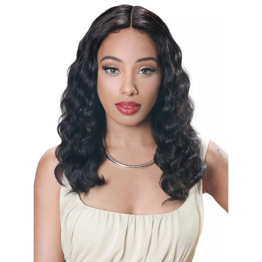HRH-BRZ LACE THANKS | Brazilian Human Lace Front Wig -Hair to Beauty | Color Shown: NATURAL
