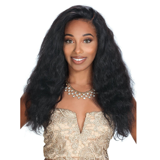 HRH-BRZ LACE VIRGO | Zury Sis Brazilian Human Lace Front Wig - Hair to Beauty | Color Shown : NATURAL