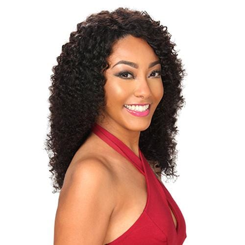 HRH-LACE WIG DELLA | Zury Sis Remy Human Hair Lace Front Wig - Hair to Beauty | Color Shown: NATURAL