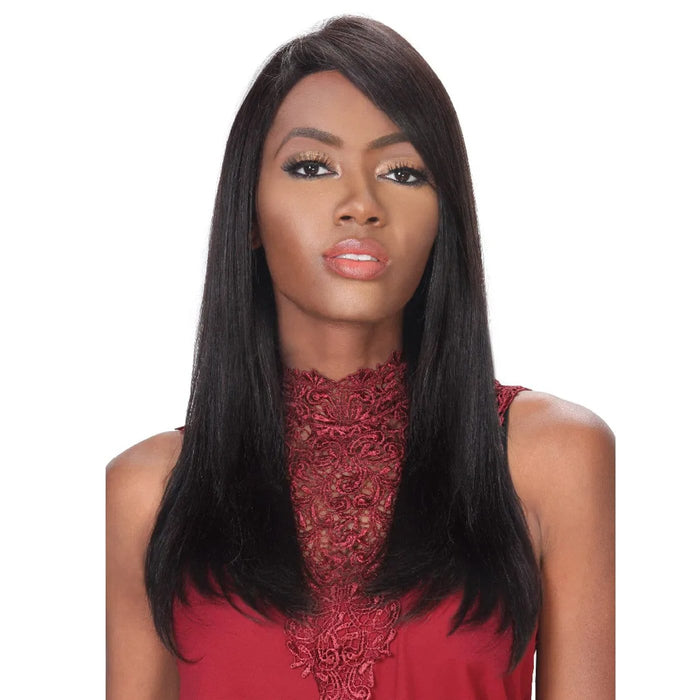 HRH-SWISS LACE YANDY | Zury Sis Human Swiss Lace Front Wig - Hair to Beauty | Color Shown: 1B