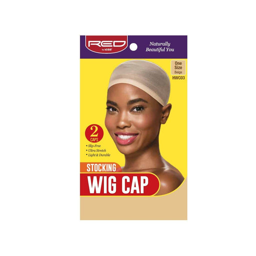 Red By Kiss | Stocking Wig Cap Beige Color 2 Caps In A Pack One Size HWC03 - Hair to beauty