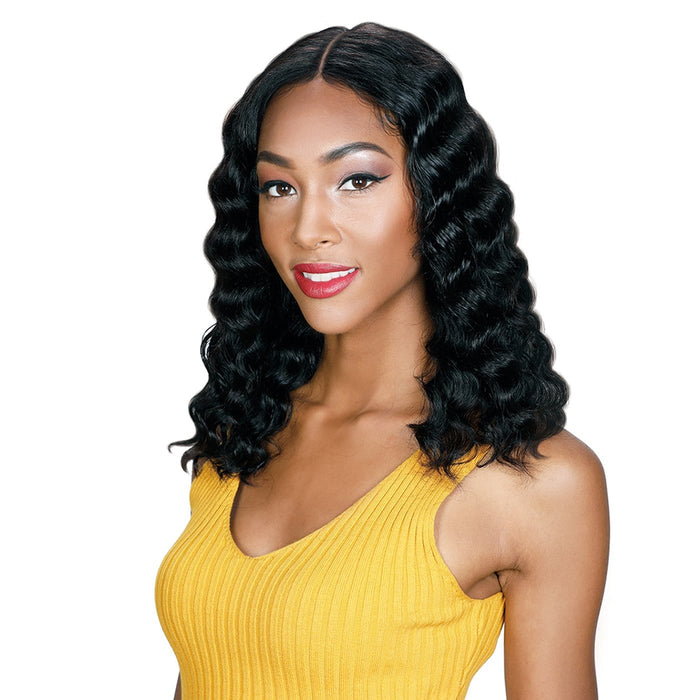HRH-BRZ 360 LACE IDA | Brazilian Human Lace Front Wig - Hair to Beauty | Color Shown: NATURAL