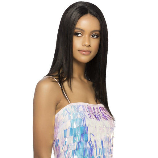 ILIANA | Vivica A. Fox VVIP Collection Remi Natural Brazilian Hair Full Swiss Wig - Hair to Beauty | Color Shown : NATURAL