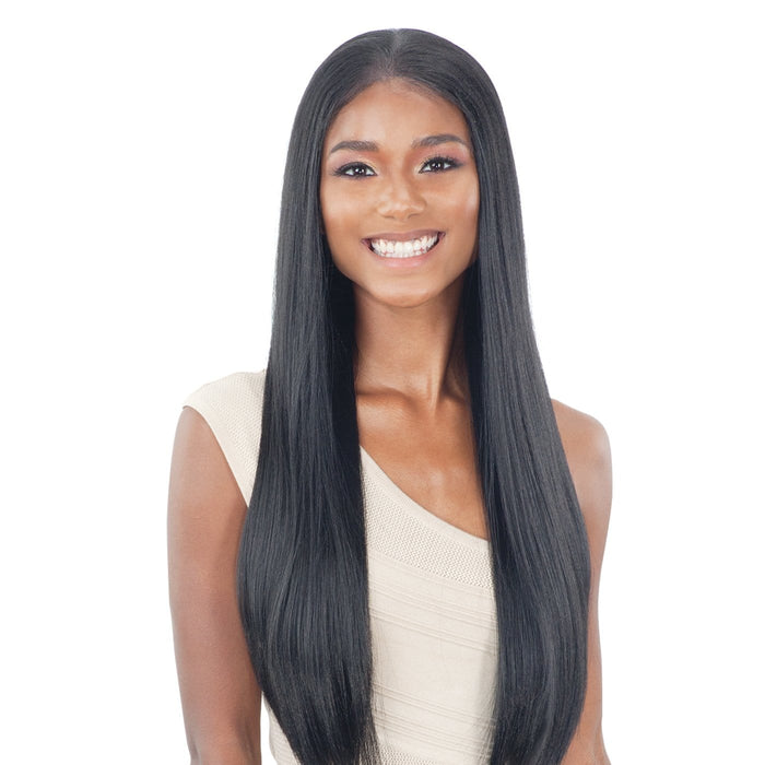 ILLUSION 003 | Lace Frontal Wig - Hair to Beauty | Color Shown: 1B
