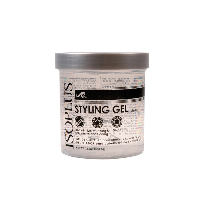 ISOPLUS | GEL (16OZ) [CLEAR] - Hair to Beauty