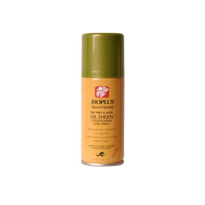 ISOPLUS | TEA TREE SHEEN SPRAY (2OZ) [NATURAL REMEDY] - Hair to Beauty