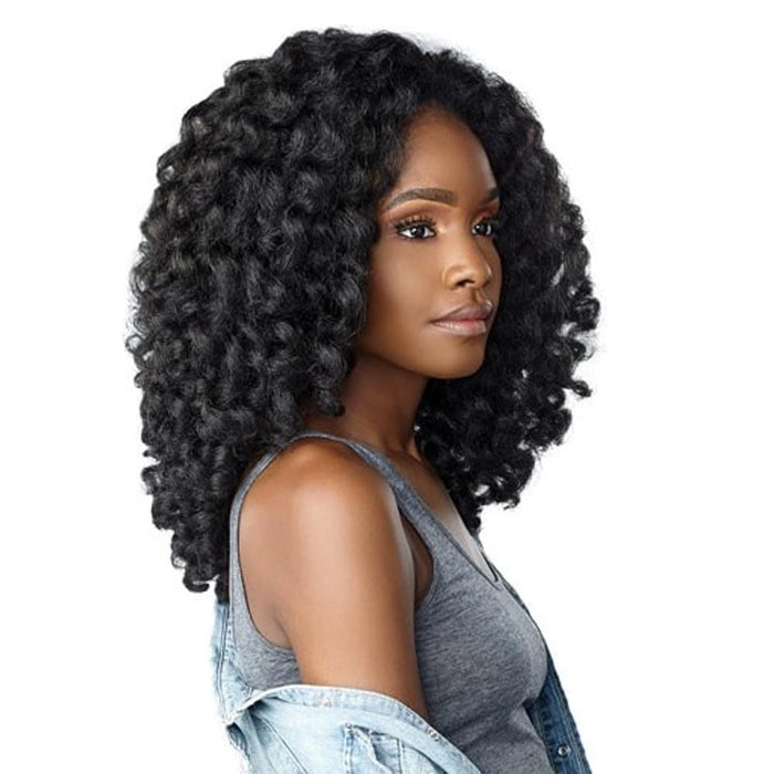 MONEY MAKER | Instant Weave Curls Kinks & Co Synthetic Half Wig.