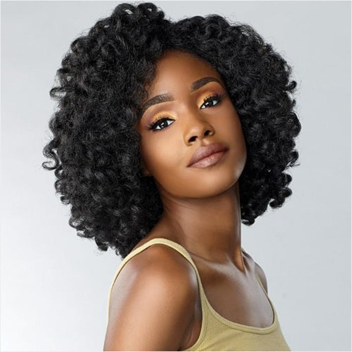 ROLE MODEL | Instant Weave Curls Kinks & Co Synthetic Half Wig.