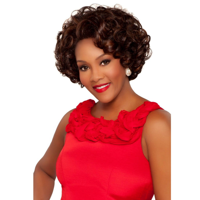 JADORE | Vivica A. Fox Synthetic Deep Full Lace Front Wig - Hair to Beauty | Color Shown: FS4/27
