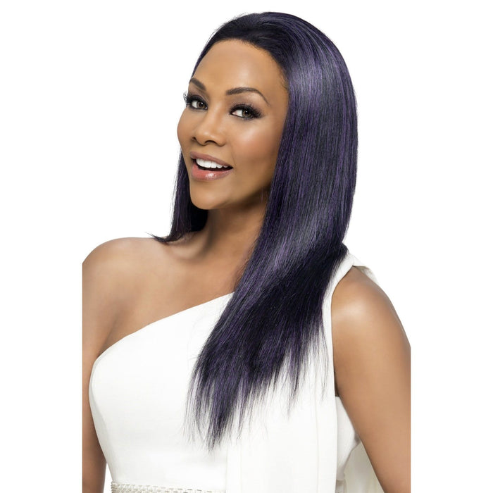 JAVANT | Vivica A. Fox Synthetic Deep Lace Front Wig - Hair to Beauty | Color Shown: M1DP