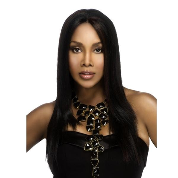 JAVANT | Vivica A. Fox Synthetic Deep Lace Front Wig - Hair to Beauty | Color Shown: FS1B/30