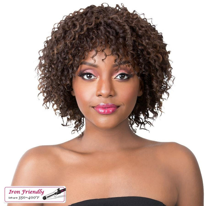 JAZZY GIRL | It's a Wig! Synthetic Wig - Hair to Beauty | Color Shown: P4/30