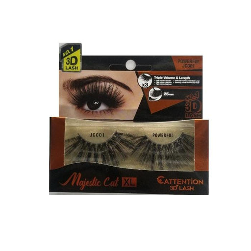EBIN | Majestic Cat XL 3D Eyelash 25 mm - Hair to Beauty