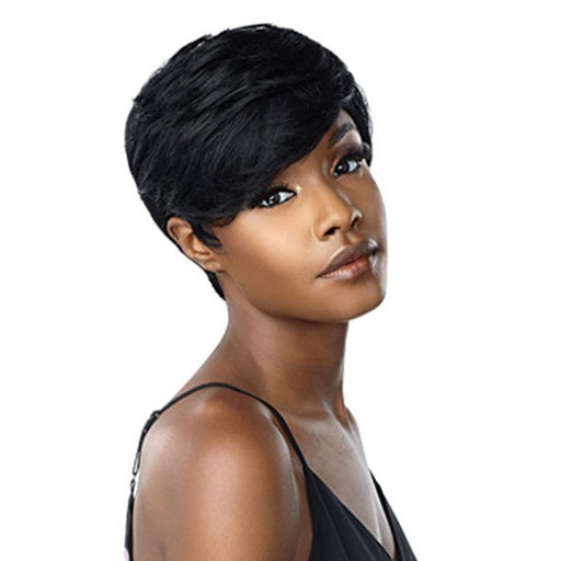 JEAN | Empire Salt & Pepper Human Hair Wig - Hair to Beauty | Color Shown: 1