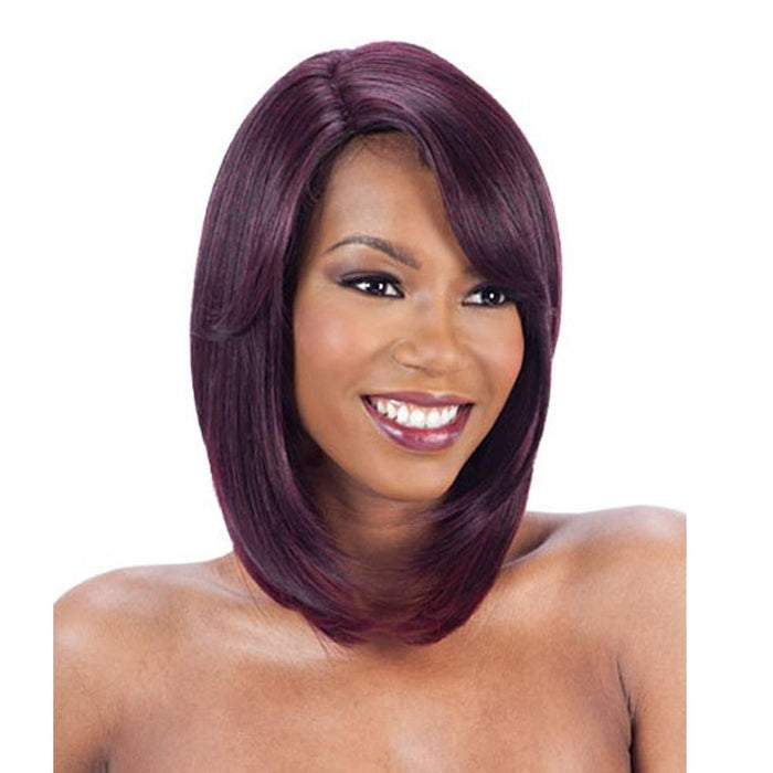 JERA | Synthetic Deep Invisible Lace Part Wig - Hair to Beauty | Color Shown: OMBG