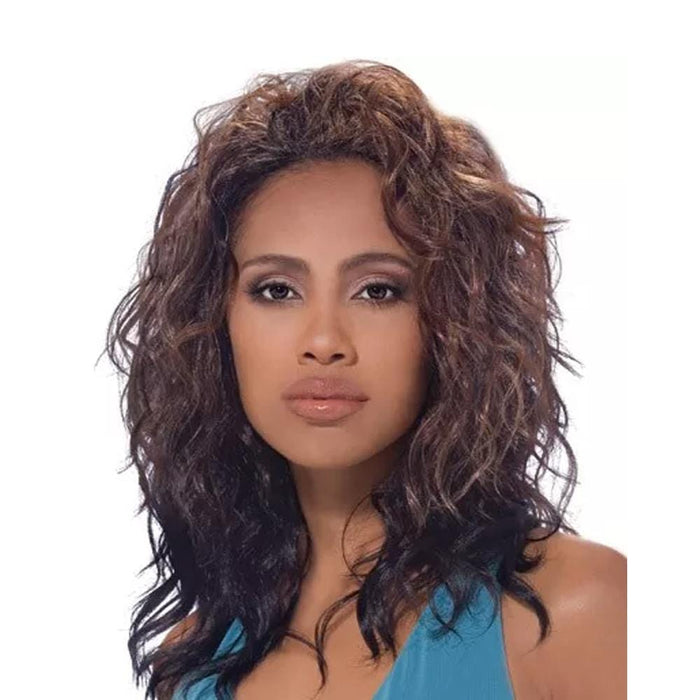 JEWELRY | Quick Weave Synthetic Half Wig  - Hair to Beauty | Color Shown: TH3027