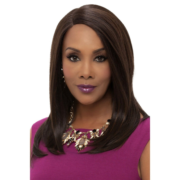 JILL | Vivica A. Fox Synthetic Invisible Lace Front Wig - Hair to Beauty | Color Shown: FS4/30