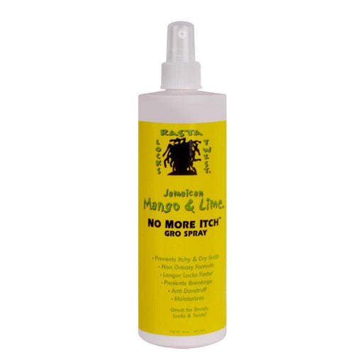JAMAICAN MANGO & LIME | No More Itch Gro Spray 16oz - Hair to Beauty