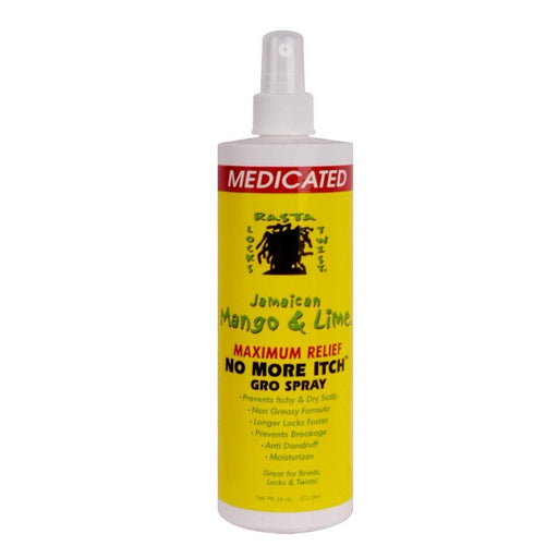 JAMAICAN MANGO & LIME | Max Relief No More Itch Gro Spray 16oz - Hair to Beauty