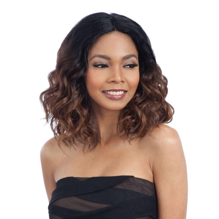 JOANNA | Synthetic Deep Invisible Lace Part Wig - Hair to Beauty | Color Shown: OH279