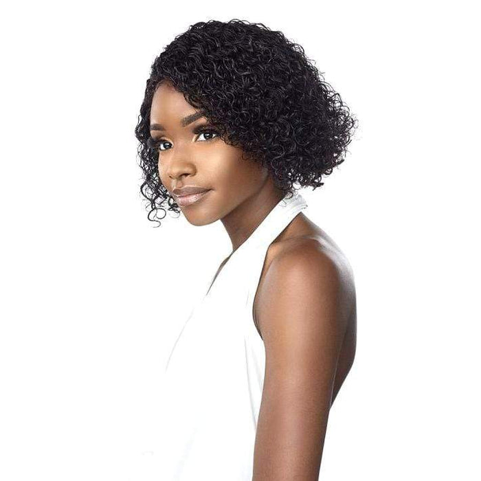 JONI | Empire Salt & Pepper Human Hair Wig - Hair To Beauty | Color Shown : 1B