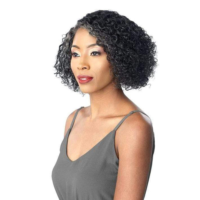 JONI | Empire Salt & Pepper Human Hair Wig - Hair To Beauty | Color Shown : HL280/44