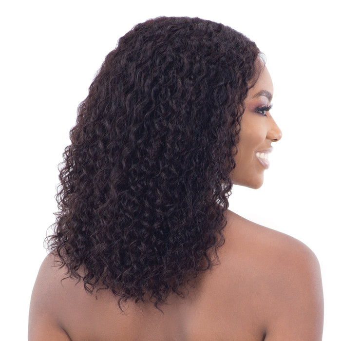 JOY | Unprocessed Brazilian Natural Human Hair Lace Front Wig.