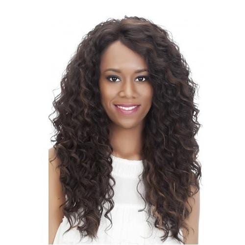 JULIA | Vivica A. Fox Synthetic Deep Full Swiss Lace Front Wig - Hair to Beauty | Color Shown: FS1B/30