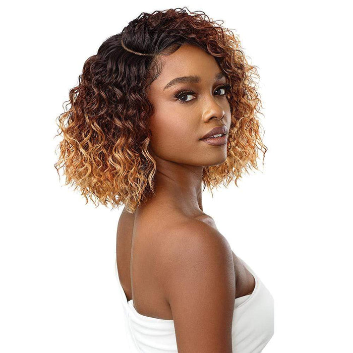 JULISA | Synthetic L-Part Swiss Lace Front Wig.