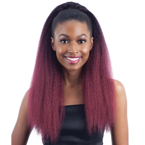 JUMBO TIE l FreeTress Synthetic BunTie Ponytail - Hair to Beauty l Color Shown: OT530