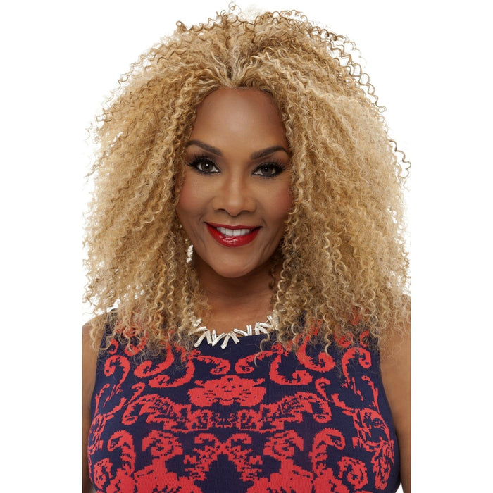 JURI | Vivica A. Fox Synthetic Natural Baby Hair Full Lace Front Wig - Hair to Beauty | Color Shown: P2216
