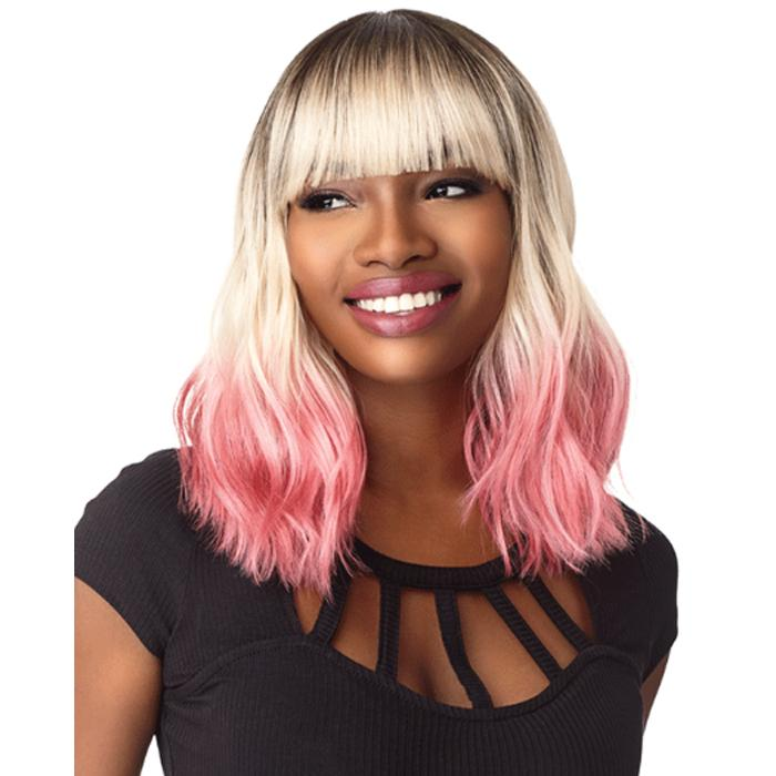 KAI | Sensationnel Instant Fashion Synthetic Wig - Hair to Beauty | Color Shown: