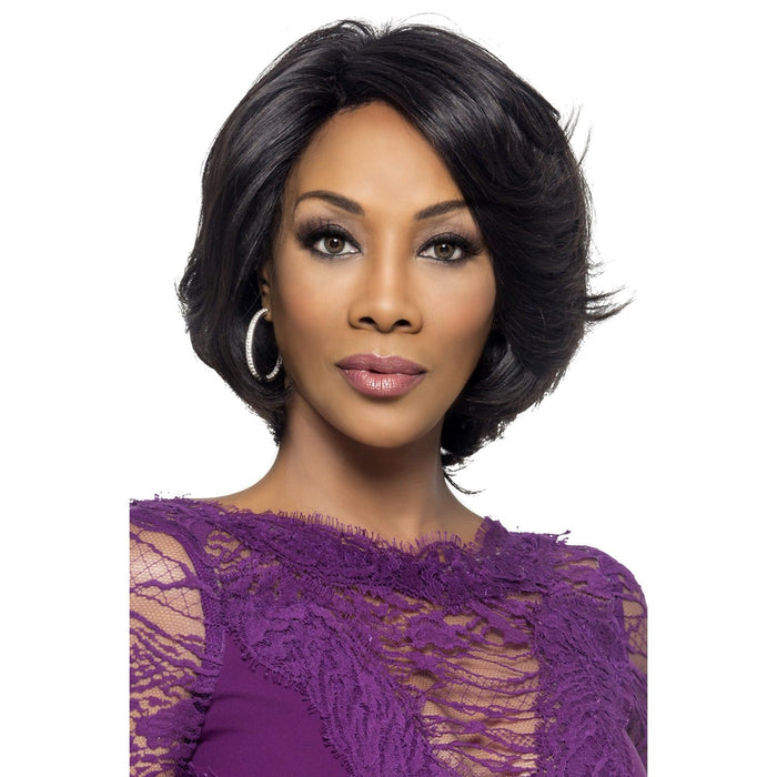 KAIA | Vivica A. Fox Remi Natural Baby Hair Invisible Part Swiss Lace Front Wig - Hair to Beauty | Color Shown: NATURAL