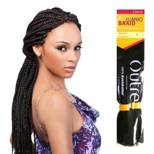 KANEKALON JUMBO BRAID | Outre Kanekalon Braid - Hair to Beauty | Color Shown: