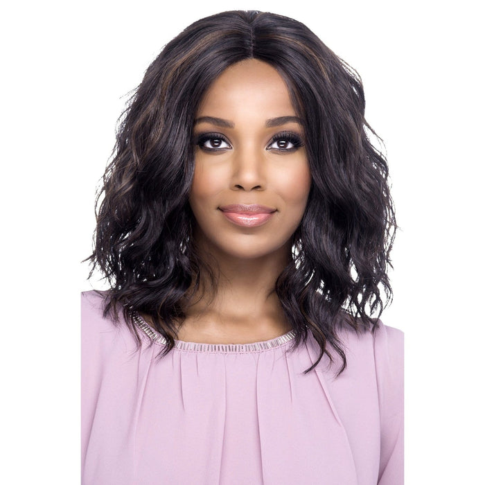 KAY | Vivica A. Fox Synthetic Invisible Part Deep Swiss Lace Front Wig - Hair to Beauty | Color Shown: FS4/30
