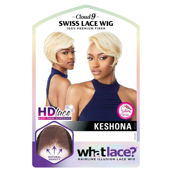 KESHONA - Sensationnel Cloud9 What Lace? Synthetic HD Swiss Lace Frontal Wig - Hair To Beauty | Color Shown : F27/613